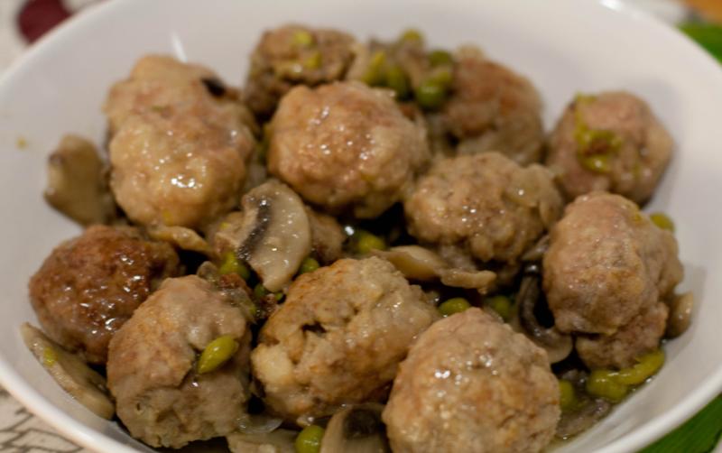 Alb ndigas con verduras y arroz tiempoagusto sitios - Acompanamiento para albondigas ...