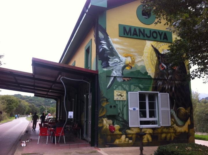 cafetería de La Manjoya