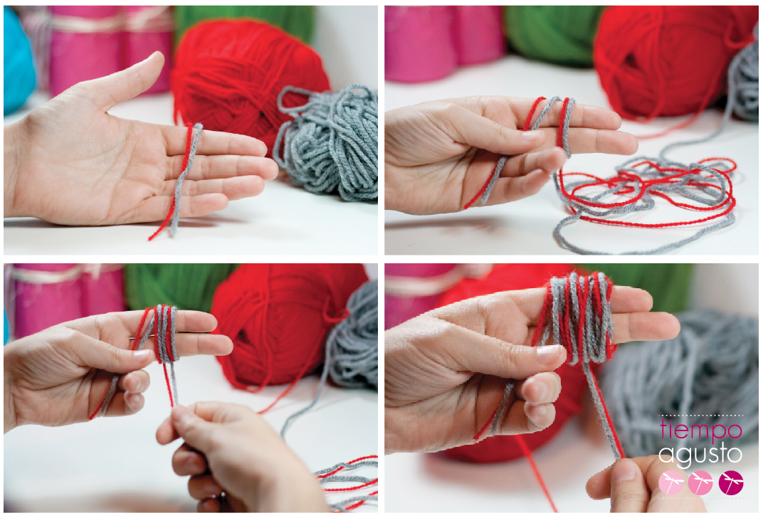 Crafts tiempoagusto sitios chulos manualidades - Como hacer pompones de lana rapido ...