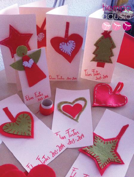 finest postales de navidad with postales navideas caseras - Postales De Navidad Caseras