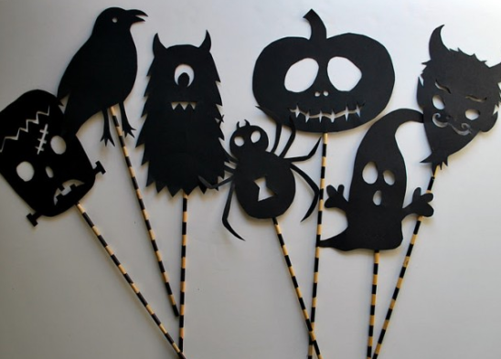 siluetas halloween