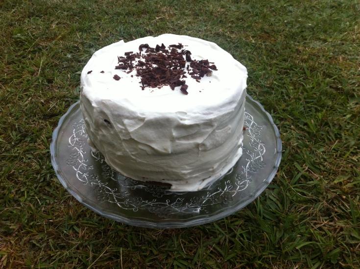 tarta de cuatro pisos