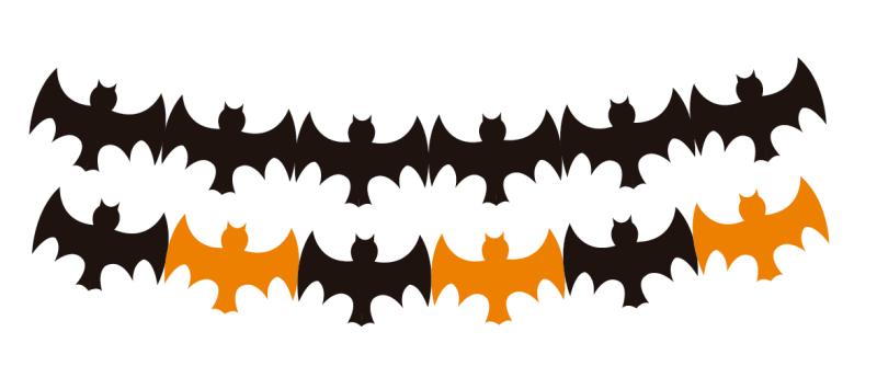 guirnalda murciélagos